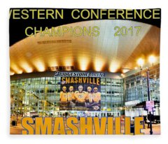 Smashville Western Conference Champions 2017 Fleece Blanket