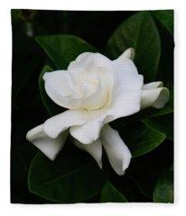 Smell The Flowers Fleece Blanket