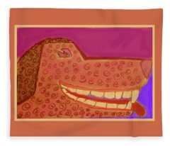Smile Fleece Blanket