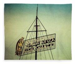 Smith Bros Fish Shanty Fleece Blanket