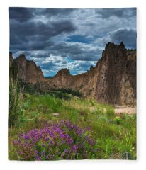 Smith Rock Fleece Blanket