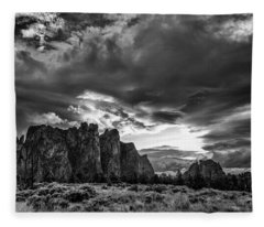 Smith Rock Fury Fleece Blanket