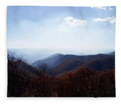 Smoke Of The Smokies Fleece Blanket