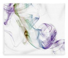 Smoke Seahorse Fleece Blanket