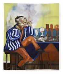 Smoker Fleece Blanket