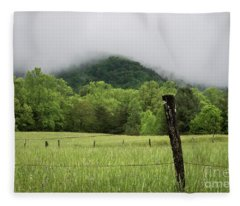 Smoky Mountains Fleece Blanket