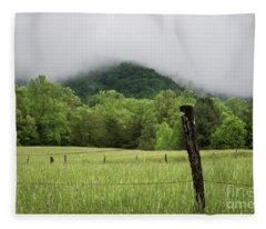 Smoky Mountains Fleece Blanket