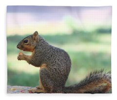Snack Time Fleece Blanket