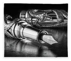 Ink Fleece Blankets