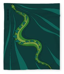 snakEVOLUTION I Fleece Blanket