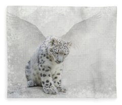 Snow Angel Fleece Blanket