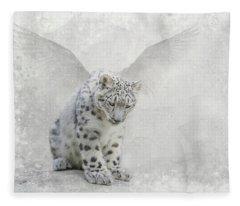 Snow Angel Fleece Blanket