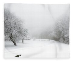 Snow Bound 2014 Fleece Blanket