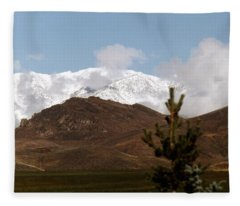 Snow Capped Fleece Blanket