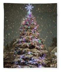 Snow Globe Fleece Blanket
