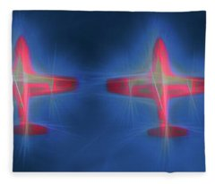 Snowbird Formation 2 Fleece Blanket