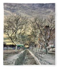Snowbound Fleece Blanket