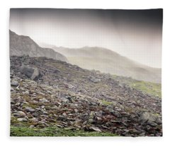 Snowdonia Wales Journey Of Mountains Fleece Blanket