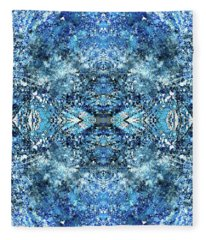 Snowflakes Of The Divine #1415 Fleece Blanket
