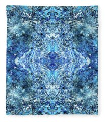 Snowflakes Of The Divine #1417 Fleece Blanket