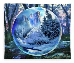 Snowglobular Fleece Blanket