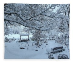 Snowplosion Fleece Blanket