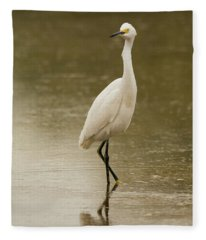Snowy Egret 5774-112717-2 Fleece Blanket