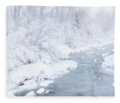 Snowy River Fleece Blanket