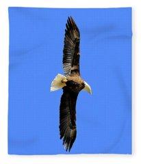 Soar Into The Blue II Fleece Blanket