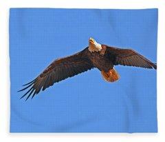 Soaring Eagle Fleece Blanket