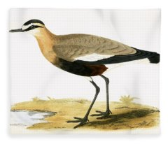 Social Plover Fleece Blanket