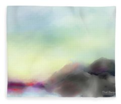 Soft Horizons Fleece Blanket