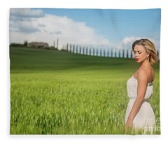 Sogno Toscana Fleece Blanket