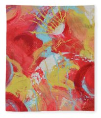 Solar Flare Fleece Blanket