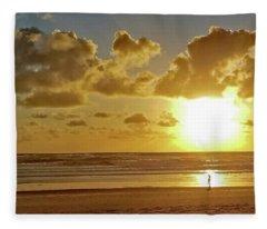 Solar Moment Fleece Blanket