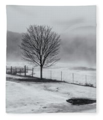 Solo Tree Fleece Blanket