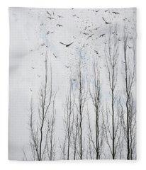 Something In The Air Tonight Fleece Blanket