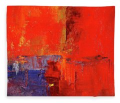 Something Red Fleece Blanket