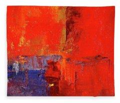 Something Red Fleece Blanket