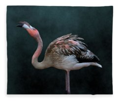 Song Of The Flamingo Fleece Blanket