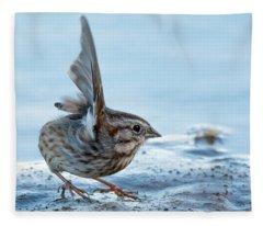 Song Sparrow 3426-112217-1cr Fleece Blanket