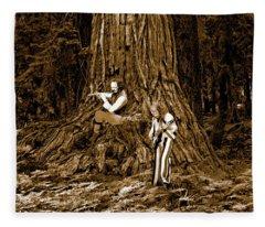 Songs In The Woods 2 Fleece Blanket