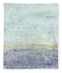 Sonoran Desert #3 Southwest Vertical Landscape Original Fine Art Acrylic On Canvas Fleece Blanket