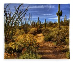 Sonoran Spring 01 Fleece Blanket