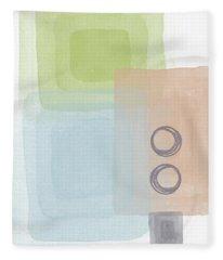 Soothing Harmony 2- Art By Linda Woods Fleece Blanket