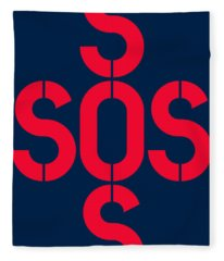 Sos Save Our Souls Fleece Blanket