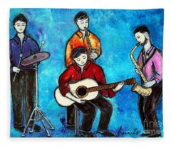 Soul Brothers Fleece Blanket