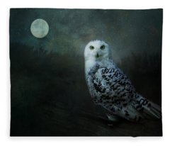 Soul Of The Moon Fleece Blanket