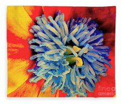 Soul Vibrations Fleece Blanket