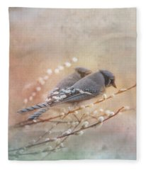 Blue Jay Fleece Blankets